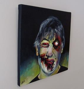 Detail Image for art Custom Zombie Portrait