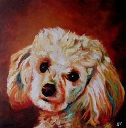 Art: Custom Abstract Pet Portrait by Artist Christine E. S. Code ~CES~