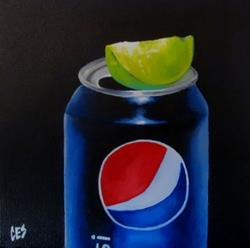 Art: Pepsi Lime by Artist Christine E. S. Code ~CES~