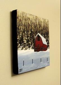 Detail Image for art Red Barn