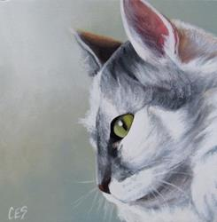 Art: A Touch of Grey by Artist Christine E. S. Code ~CES~