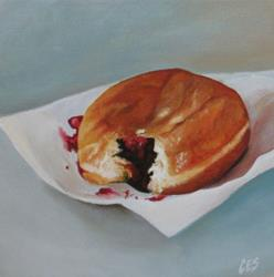 Art: Jelly Donut by Artist Christine E. S. Code ~CES~