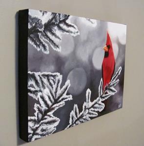 Detail Image for art Winter Cardinal