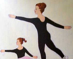 Detail Image for art Sisters at Rehearsal