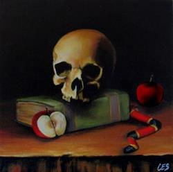 Art: The Death of Knowledge by Artist Christine E. S. Code ~CES~