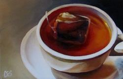 Art: Herbal Tea by Artist Christine E. S. Code ~CES~