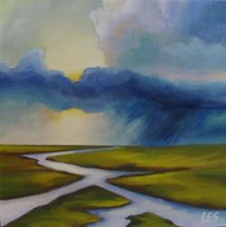 Art: Summer Rain by Artist Christine E. S. Code ~CES~