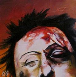 Art: You Should See The Other Guy by Artist Christine E. S. Code ~CES~