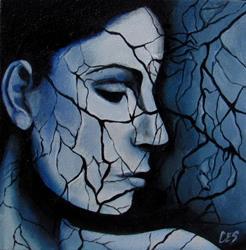 Art: Web of Lies by Artist Christine E. S. Code ~CES~