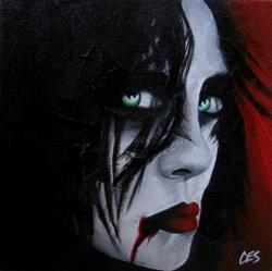 Art: Vampiress by Artist Christine E. S. Code ~CES~