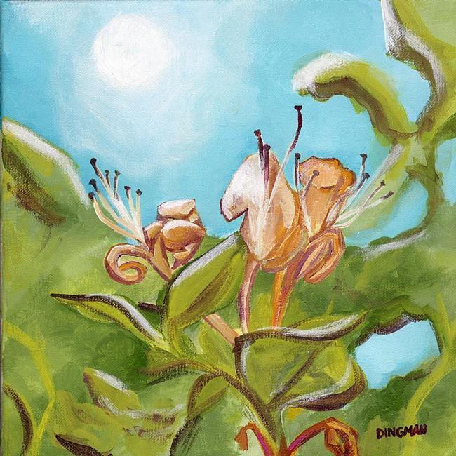 Art: Honeysuckle by Artist Aimee L. Dingman