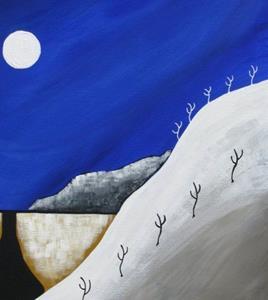 Detail Image for art Desert Winter