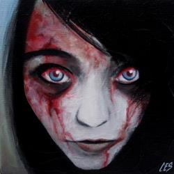 Art: Custom Zombie Portrait: Meghan by Artist Christine E. S. Code ~CES~