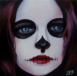 Art: Violet by Artist Christine E. S. Code ~CES~