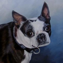 Art: Custom Pet Portrait: Justice by Artist Christine E. S. Code ~CES~
