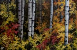 Art: Autumn Expressions by Artist Christine E. S. Code ~CES~