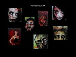 Art: Custom Zombie Portrait from Your Photo! by Artist Christine E. S. Code ~CES~