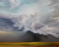 Art: Prairie Storm by Artist Christine E. S. Code ~CES~