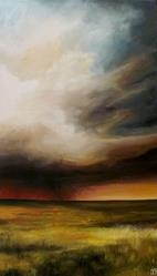 Art: The Passing Storm by Artist Christine E. S. Code ~CES~