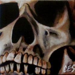 Art: 29 Faces: Skull #4 by Artist Christine E. S. Code ~CES~