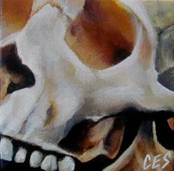 Art: 29 Faces: Skull #7 by Artist Christine E. S. Code ~CES~
