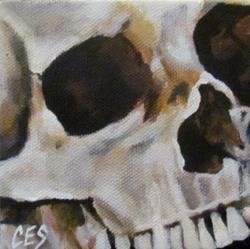 Art: 29 Faces: Skull #9 by Artist Christine E. S. Code ~CES~