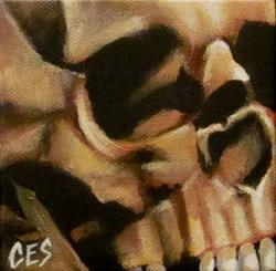 Art: 29 Faces - Skull #10 by Artist Christine E. S. Code ~CES~