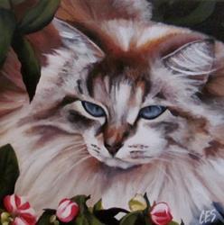 Art: In The Garden by Artist Christine E. S. Code ~CES~