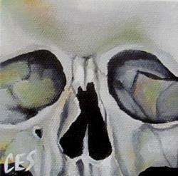 Art: 29 Faces: Skull #11 by Artist Christine E. S. Code ~CES~