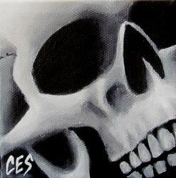 Art: 29 Faces: Skull #12 by Artist Christine E. S. Code ~CES~