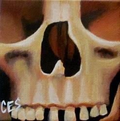Art: 29 Faces: Skull #15 by Artist Christine E. S. Code ~CES~