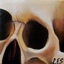 Art: 29 Faces: Skull #16 by Artist Christine E. S. Code ~CES~