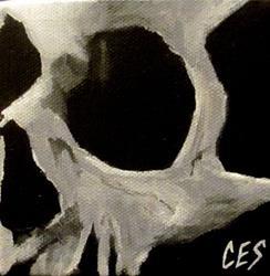 Art: 29 Faces: Skull #21 by Artist Christine E. S. Code ~CES~