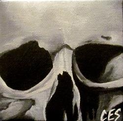 Art: 29 Faces: Skull #24 by Artist Christine E. S. Code ~CES~