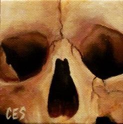 Art: 29 Faces: Skull #26 by Artist Christine E. S. Code ~CES~