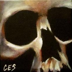 Art: 29 Faces: Skull #28 by Artist Christine E. S. Code ~CES~