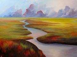 Art: Prairies North by Artist Christine E. S. Code ~CES~