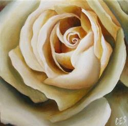 Art: Something Lovely When You Wake Up by Artist Christine E. S. Code ~CES~
