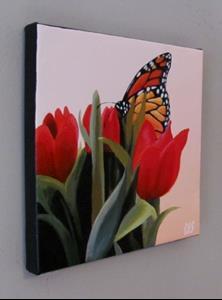 Detail Image for art Spring Visitor