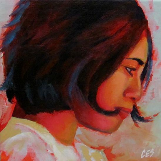Art: The Romantic by Artist Christine E. S. Code ~CES~