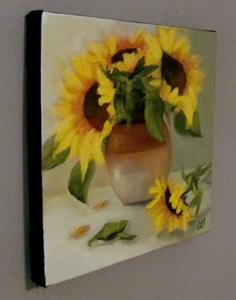 Detail Image for art Sunflowers and Stoneware