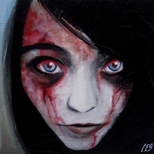 Art: Meghan by Artist Christine E. S. Code ~CES~