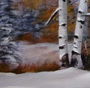 Detail Image for art Early Snow