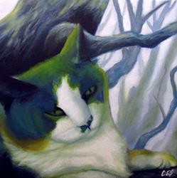 Art: Commissioned Pet Portrait by Artist Christine E. S. Code ~CES~