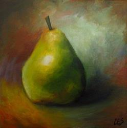 Art: A Pear for You by Artist Christine E. S. Code ~CES~