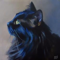 Art: Ponder by Artist Christine E. S. Code ~CES~