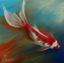 Art: Keep Swimming by Artist Christine E. S. Code ~CES~