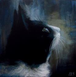 Art: Tuxedo Dreamin' by Artist Christine E. S. Code ~CES~