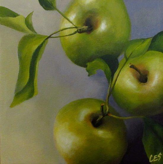 Art: Freshly Picked by Artist Christine E. S. Code ~CES~