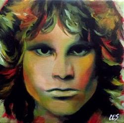 Art: Jim Morrison by Artist Christine E. S. Code ~CES~